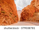 todgha gorge  a canyon in the... | Shutterstock . vector #379038781