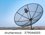 satellite dish on the roof with ...   Shutterstock . vector #379046005