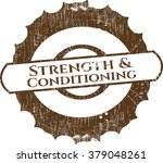 strength and conditioning... | Shutterstock .eps vector #379048261