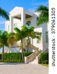 beautiful luxury residential... | Shutterstock . vector #379061305