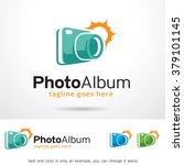 photo album logo template... | Shutterstock .eps vector #379101145