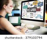 big data online internet...   Shutterstock . vector #379103794