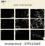 abstract grunge dirty black... | Shutterstock .eps vector #379112665