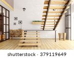 modern interior of a room with... | Shutterstock . vector #379119649