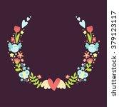 cute simple detailed circular...   Shutterstock .eps vector #379123117