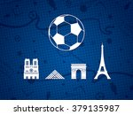 france soccer   football...   Shutterstock .eps vector #379135987
