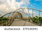 helix bridge of singapore | Shutterstock . vector #379140391