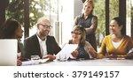 business people meeting... | Shutterstock . vector #379149157