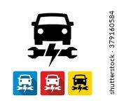 vector car electronics system... | Shutterstock .eps vector #379160584