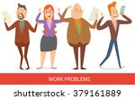 vector cartoon image of a set... | Shutterstock .eps vector #379161889