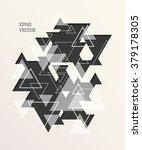 vector abstract geometric... | Shutterstock .eps vector #379178305