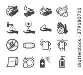 hygiene icon  | Shutterstock .eps vector #379180711