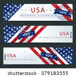 presidential election in the... | Shutterstock .eps vector #379183555