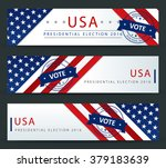 presidential election in the... | Shutterstock .eps vector #379183639