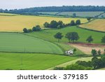 rural devon house   soft focus | Shutterstock . vector #379185