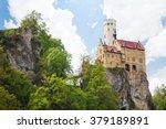lichtenstein castle in germany... | Shutterstock . vector #379189891