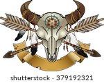 native american indian symbol ... | Shutterstock .eps vector #379192321