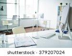 workplace | Shutterstock . vector #379207024