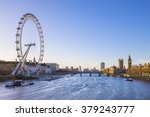 London Skyline View At Sunrise...