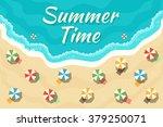 summer time. vector...   Shutterstock .eps vector #379250071