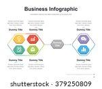 flat business presentation... | Shutterstock .eps vector #379250809