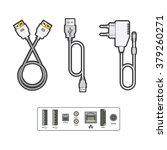 computer peripherals  data... | Shutterstock .eps vector #379260271