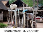traditional salt making in bo... | Shutterstock . vector #379270789