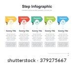 flat business presentation... | Shutterstock .eps vector #379275667