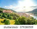 heidelberg panorama view    Shutterstock . vector #379280509
