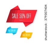 sale 50  off tags | Shutterstock .eps vector #379307404