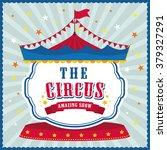circus icon design  | Shutterstock .eps vector #379327291