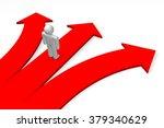 3d decision concept. | Shutterstock . vector #379340629