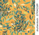 tulip flowers pattern | Shutterstock .eps vector #379342189
