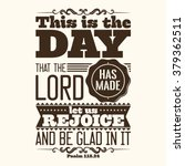 bible typographic. this is the... | Shutterstock .eps vector #379362511