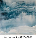 watercolor drips. abstract... | Shutterstock . vector #379363801