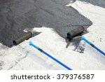roller brush  tool for    ... | Shutterstock . vector #379376587