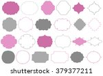decorative frames | Shutterstock .eps vector #379377211
