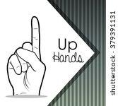 sign language design  | Shutterstock .eps vector #379391131
