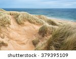 Scenery Of Grass Beach And...