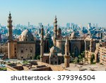 mosque madrassa of sultan... | Shutterstock . vector #379396504