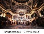istanbul   jun 18  blue mosque... | Shutterstock . vector #379414015