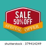 discount and offer design | Shutterstock .eps vector #379414249