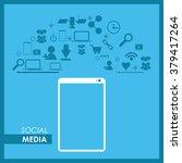 social media design  | Shutterstock .eps vector #379417264