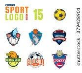 sport logo design set | Shutterstock .eps vector #379428901
