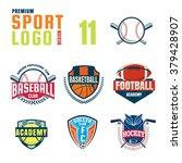 sport logo design set | Shutterstock .eps vector #379428907