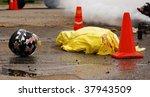 car accident mock   involving...   Shutterstock . vector #37943509