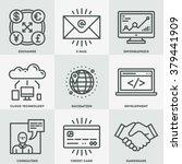 modern assorted global business