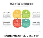 flat business presentation... | Shutterstock .eps vector #379453549