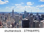 new york city manhattan midtown ... | Shutterstock . vector #379464991