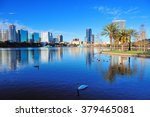 Orlando Lake Eola In The...